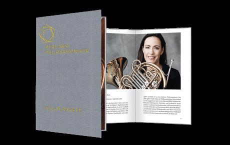 Die Berliner Philharmoniker: Bildband von Jim Rakete