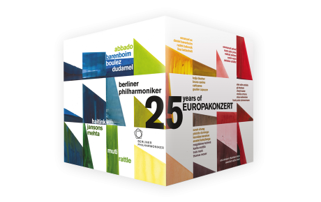 Jubiläumsedition: 25 Jahre Europakonzert