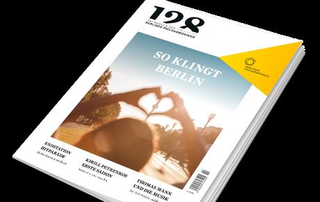 »128 – Das Magazin der Berliner Philharmoniker«: neueste Ausgabe
