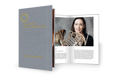 Photo-book by Jim Rakete: The Berliner Philharmoniker up close
