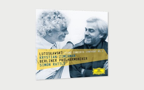 Lutosławski with Krystian Zimerman and Sir Simon Rattle