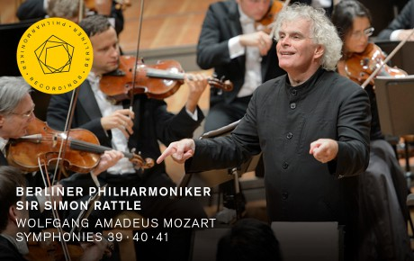 Simon Rattle conducts Mozart's Symphonies Nos. 39, 40 and 41